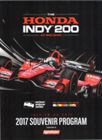 2017 Mid-Ohio Honda Event Program