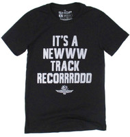 Wing Wheel and Flag New Track Record Polyblend Tee