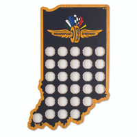 Wing Wheel and Flag Bottle Cap Holder Sign