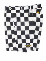 Wing Wheel and Flag Pole Position Shorts