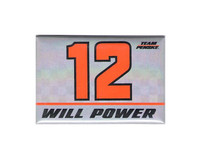 Will Power 2x3 Magnet