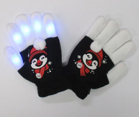 Youth Penguin Light Up Gloves