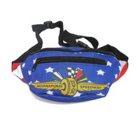 Wing Wheel and Flags Americana Fanny Pack