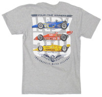 4-Time Winners Evolution Tee