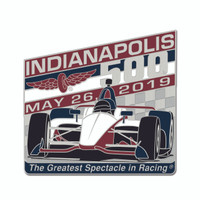 2019 Indy 500 Car Mount Lapel Pin