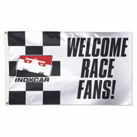 INDYCAR Series Welcome Race Fans 3'x5' Flag