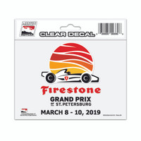 2019 Grand Prix of St. Petersburg Decal
