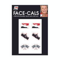INDYCAR Face Decals Variety Pack