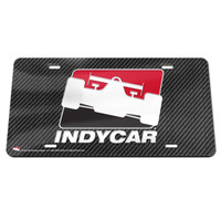INDYCAR Carbon License Plate