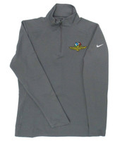 Ladies Wing Wheel and Flag Dry Top 1/4 Zip Nike Jacket
