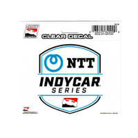 NTT INDYCAR Series Clear Decal