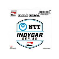 NTT INDYCAR Series Clear Decal