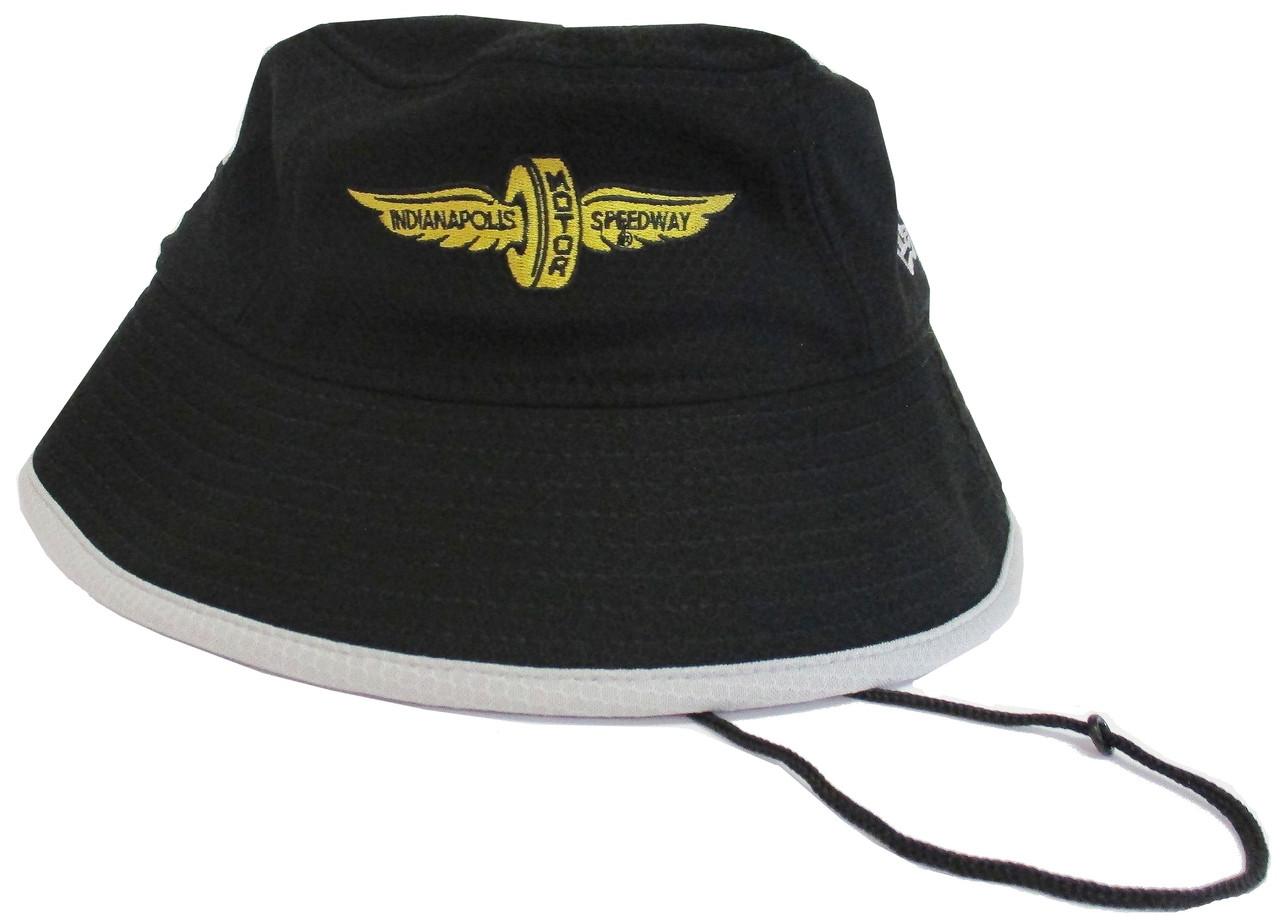3f99caf6cf7 Wing and Wheel Logo New Era Bucket Cap - Indianapolis Motor Speedway INDYCAR