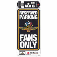 Indianapolis Motor Speedway Reserved Parking Magnet