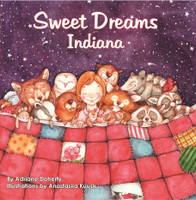Sweet Dreams Indiana Children's Book
