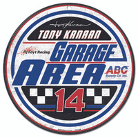 Tony Kanaan Round Sign