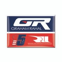 """Graham Rahal 2""""x3"""" Magnet"""