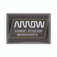 "ARROW Schmidt Peterson Motorsports 2""x 3"" Magnet"
