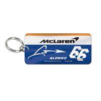 Fernando Alonso McLaren Keychain