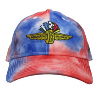 Wing Wheel and Flag Tie Dye New Era 9TWENTY Cap
