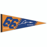 Fernando Alonso Premium Driver Pennant