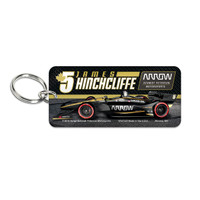 "James Hinchcliffe ""5"" Keychain"