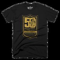 Mario Andretti 50th Anniversary Logo Tee