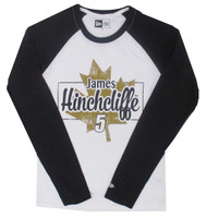 James Hinchcliffe Maple Leaf New Era Baseball Tee