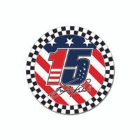 Graham Rahal Round Driver Lapel Pin