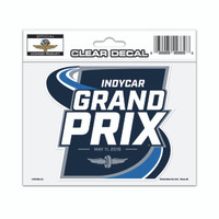2019 INDYCAR Grand Prix Event Decal