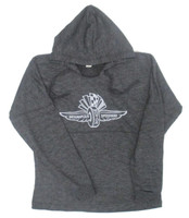 Ladies Wing Wheel and Flag OTG Hoody