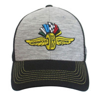 Wing Wheel and Flag Grey Street Cap