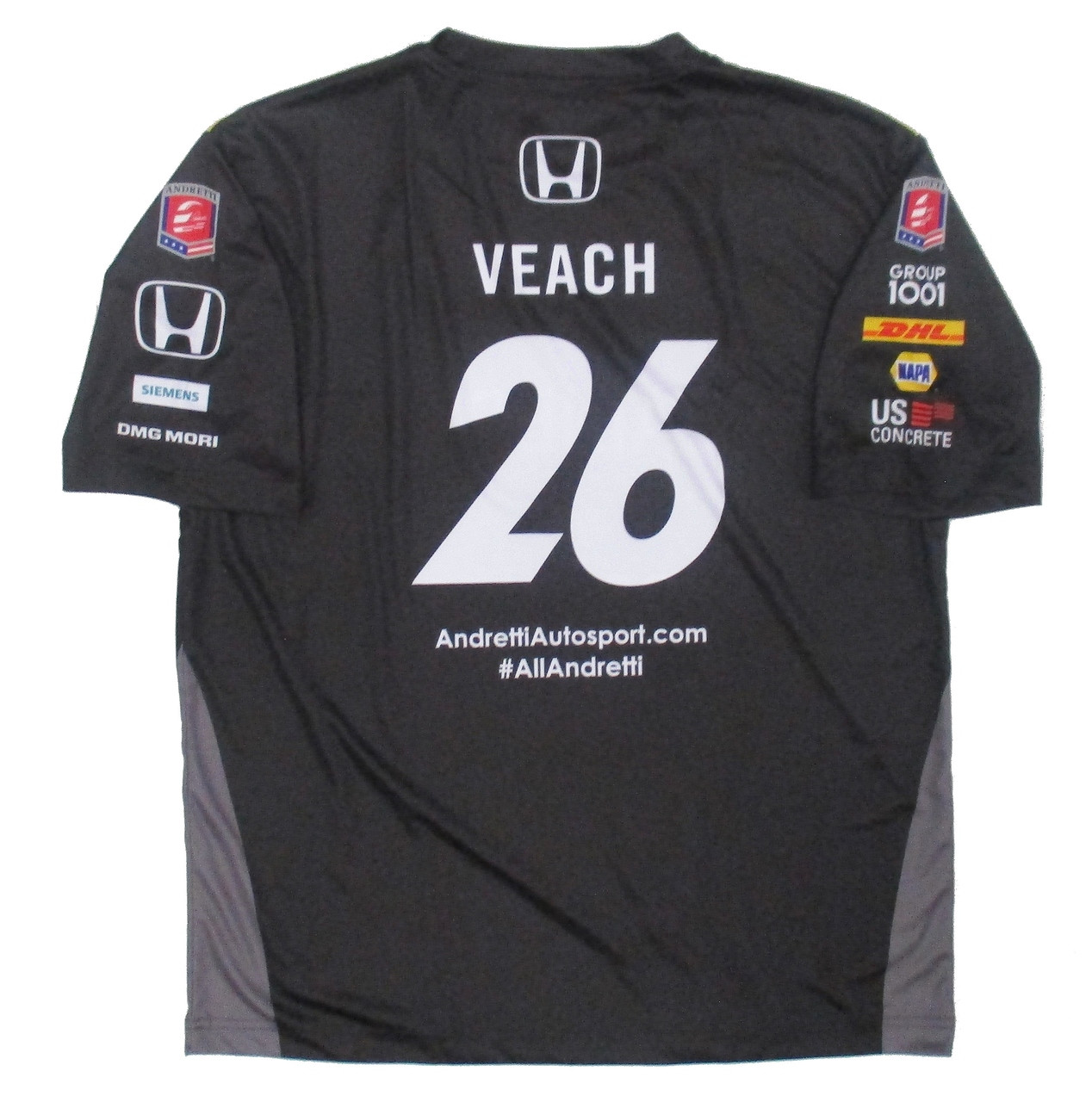 newest 702fd a2bef Zach Veach GAINBRIDGE Jersey