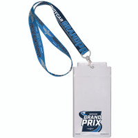 2019 INDYCAR Grand Prix Credential Lanyard Set