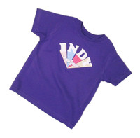 Toddler Girls Race The Rainbow Tee