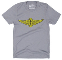 Wing and Wheel Vintage Polyblend Tee