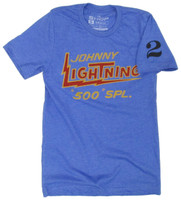 Johnny Lightning Royal Polyblend Tee