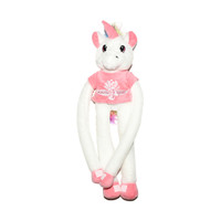 Wing Wheel and Flag Plush Unicorn Clinger