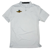 Wing Wheel and Flag Vapor Stripe Nike Polo