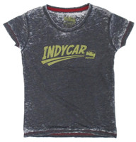 Ladies INDYCAR Swoosh Burnout Tee