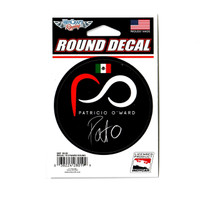 Patricio O'Ward Driver Decal