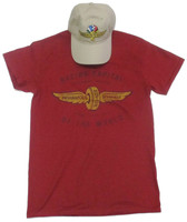 Wing and Wheel Racing Capital Of The World Hat/Tee Combo