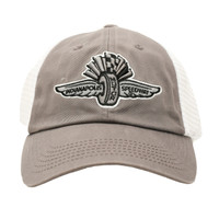 Wing Wheel and Flag Speed Time Cap