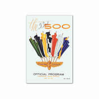 Indianapolis Motor Speedway 1969 Indy Program Magnet
