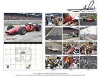 Mario Andretti 50th Anniversary Calendar