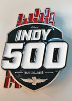 2019 Indy 500 Logo Belt Buckle