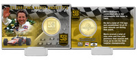 Mario Andretti 50th Anniversary Coin Card