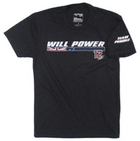 Will Power Name Polyblend Tee