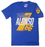 Fernando Alonso Name and Number Tee