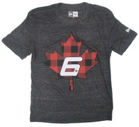 Robert Wickens Maple Plaid Triblend Tee